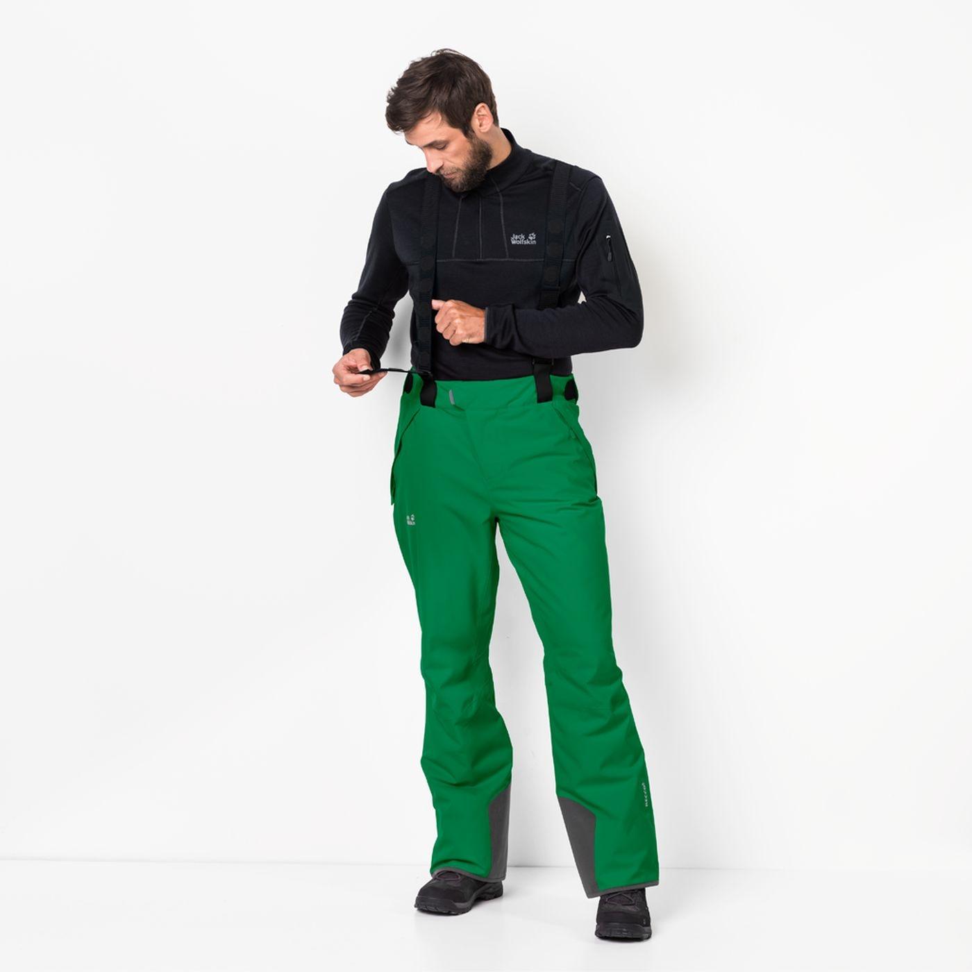 Jack Wolfskin Exolight Pants Men forest green de