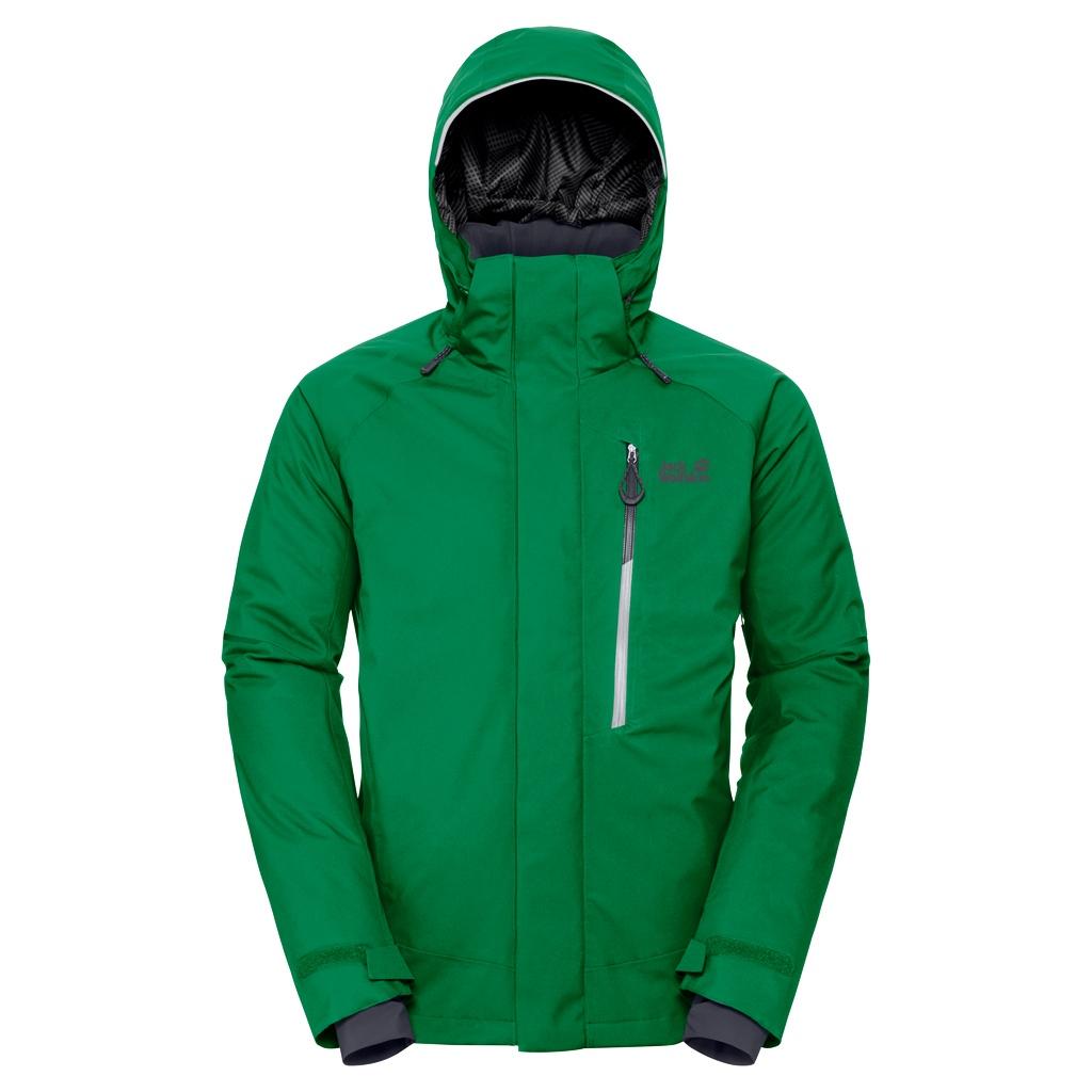 Jack Wolfskin Exolight Icy Jacket Men forest green en