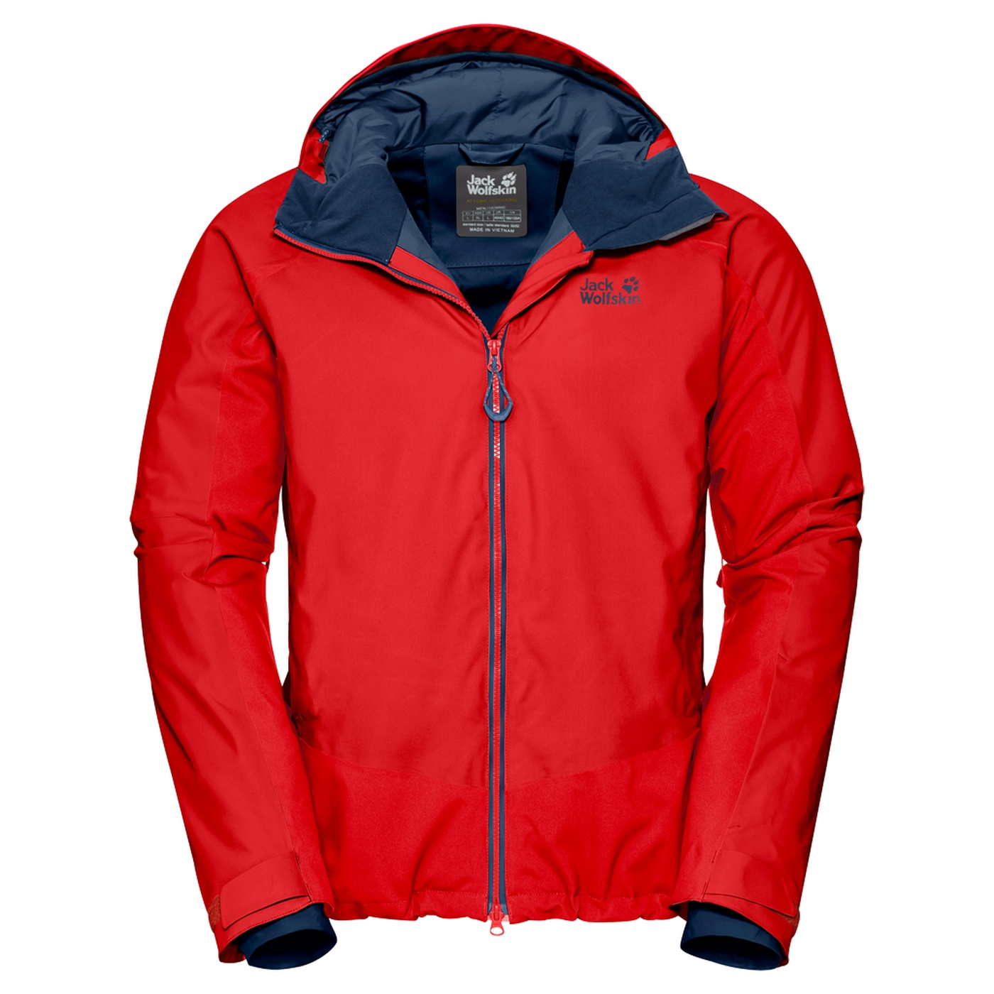 f067d69d7a0 Jack Wolfskin Exolight Base Jacket Men fiery red - be_nl