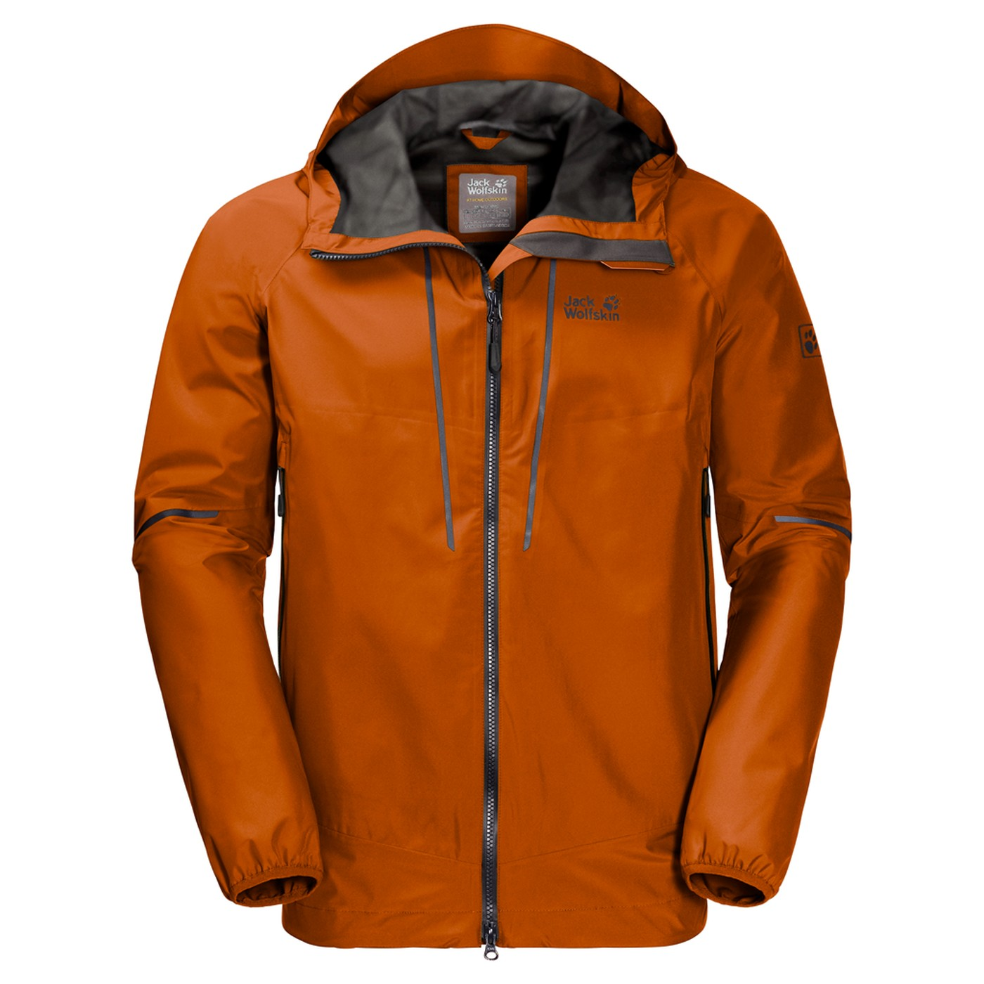 Jack Us Sierra Jacket Desert Trail Men Orange Wolfskin Y6bgfy7