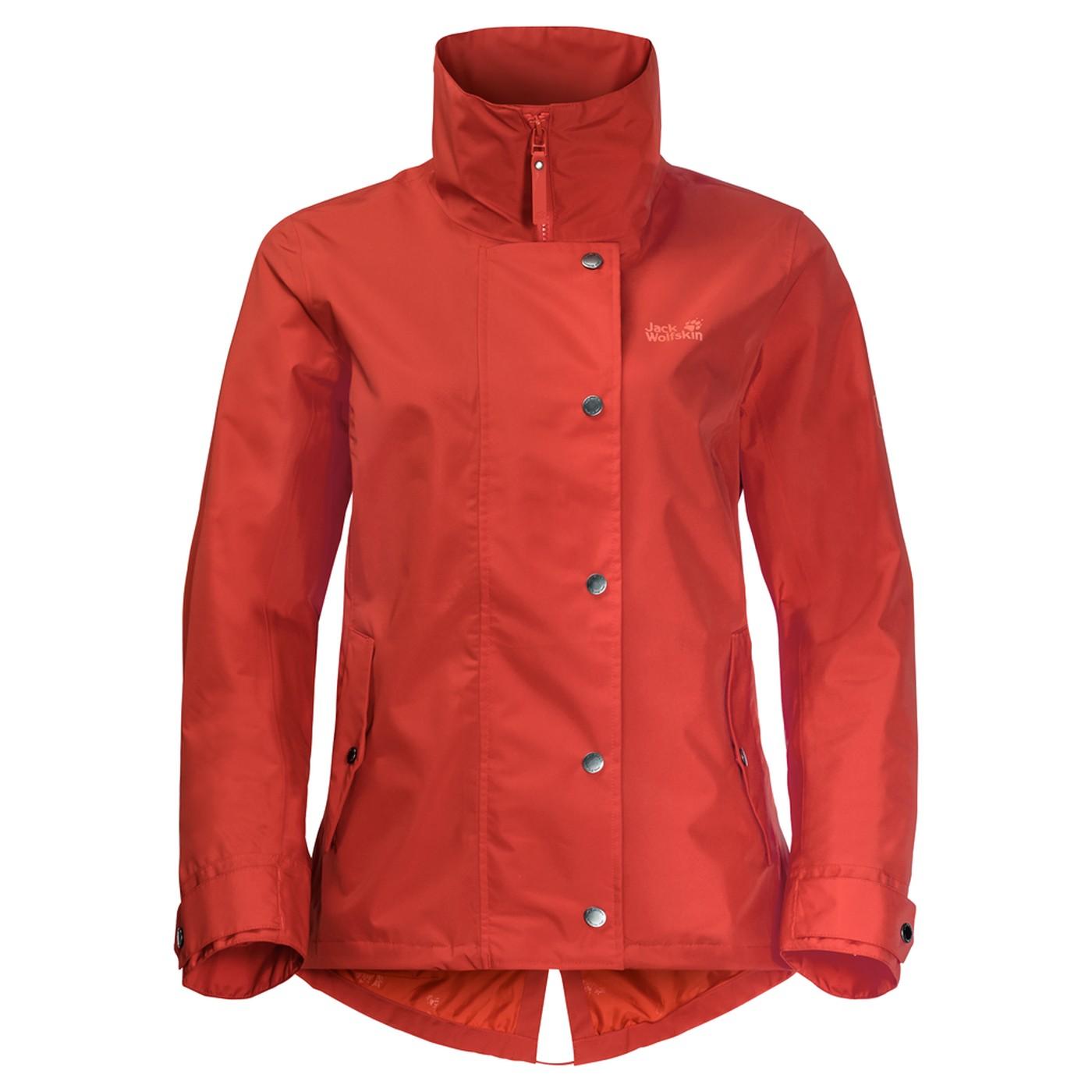 2dd806624 Jack Wolfskin Newport Jacket Women volcano red - en