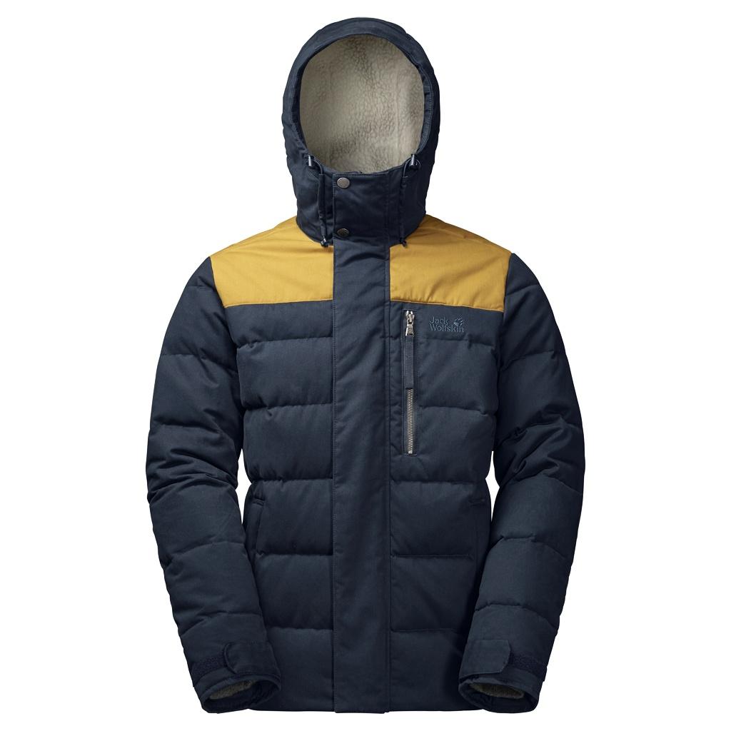 Jack Wolfskin Lakota Jacket - night blue - Daunenjacken XL