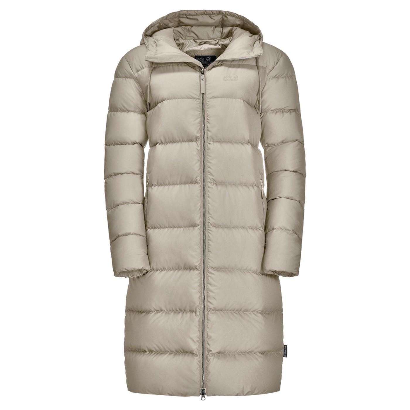 Jack Wolfskin Crystal Palace Coat dusty grey us