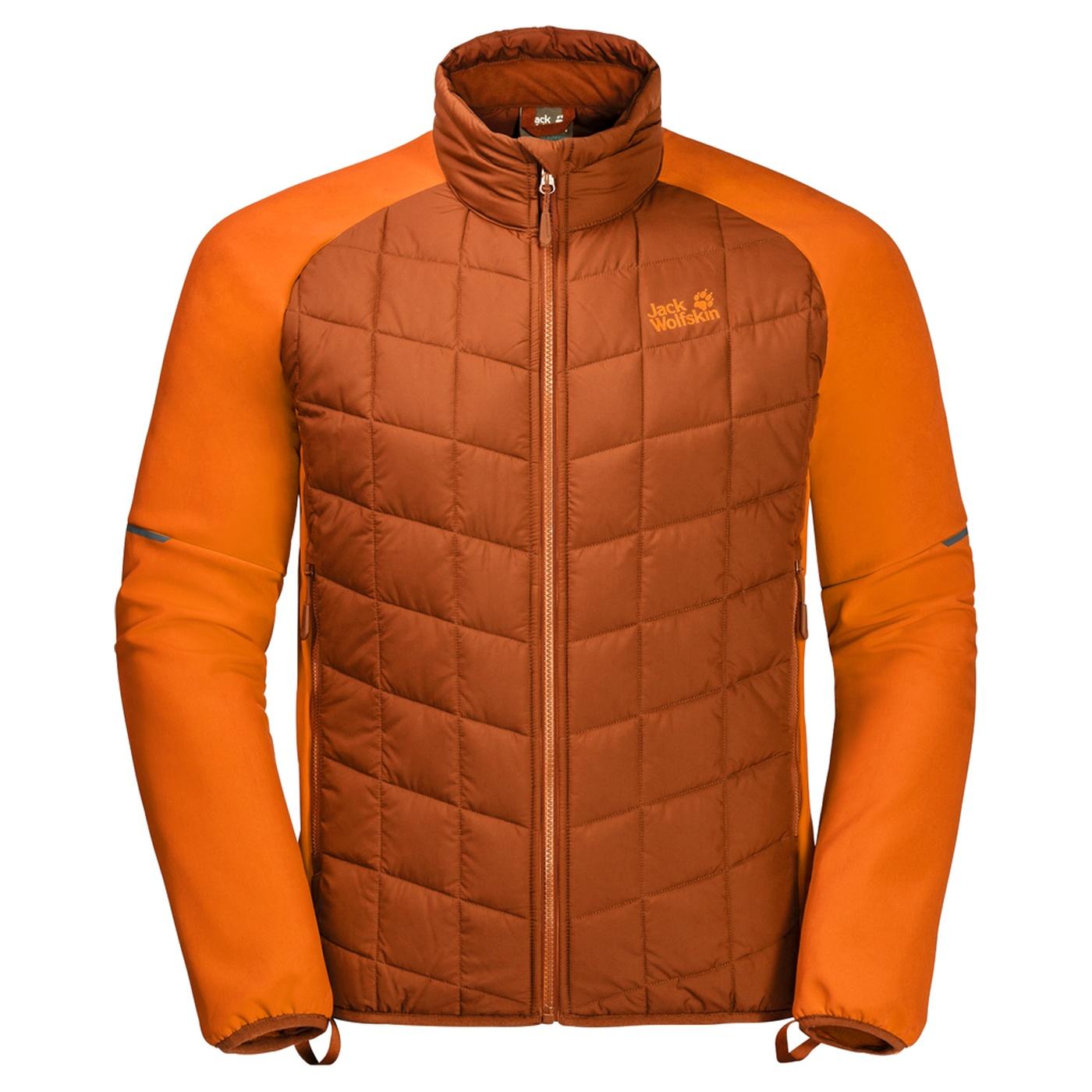 d45b16f6ce1 Jack Wolfskin Grassland Hybrid Jacket M sequoia - us