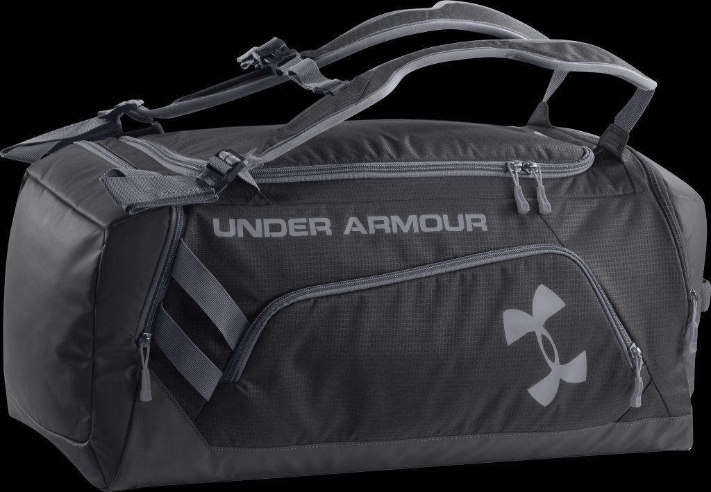 2ce9c7d1712 Under Armour UA Storm Contain Backpack Duffle Black Steel Steel - ch en