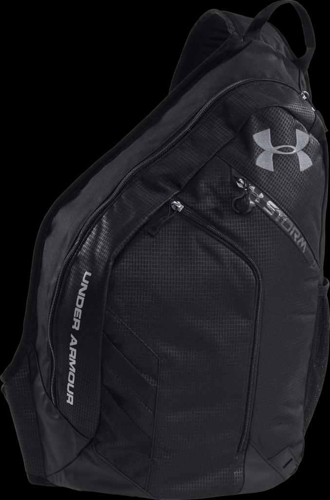 Under Armour UA Compel Storm Sling Pack Black Steel - us 31022d423086e