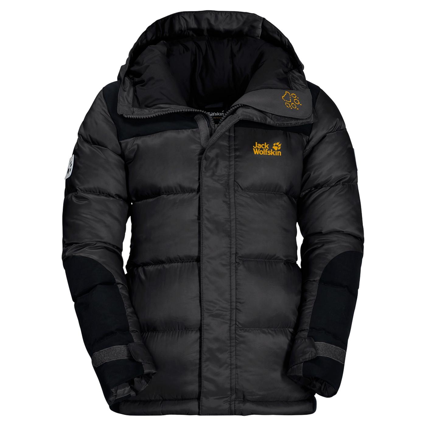 Jack Wolfskin Black Cook Jacket