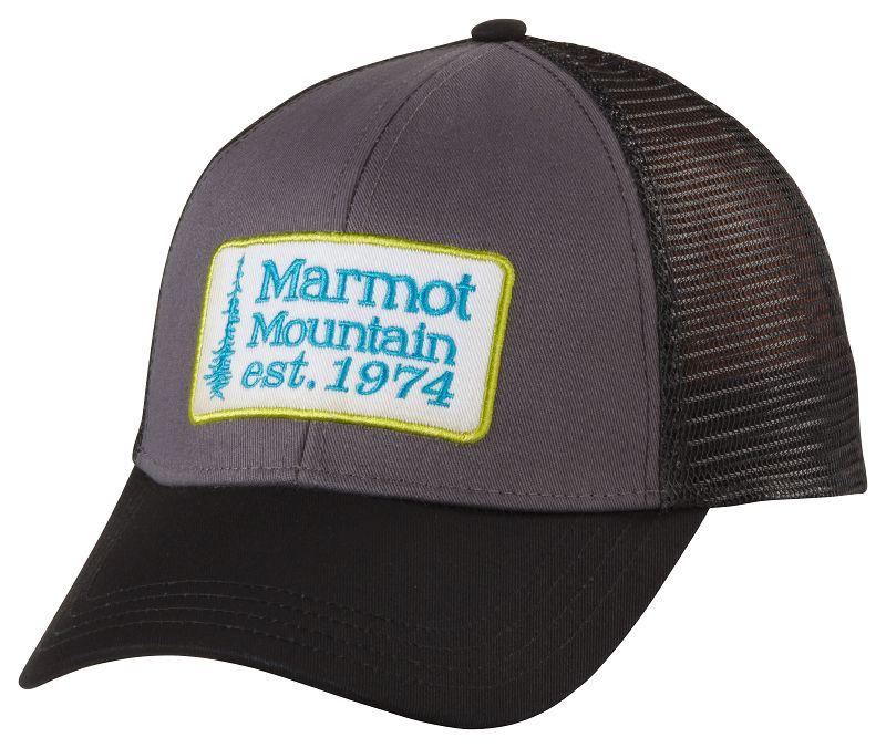 c67a83cb63b1e Marmot Retro Trucker Hat Slate Grey - en