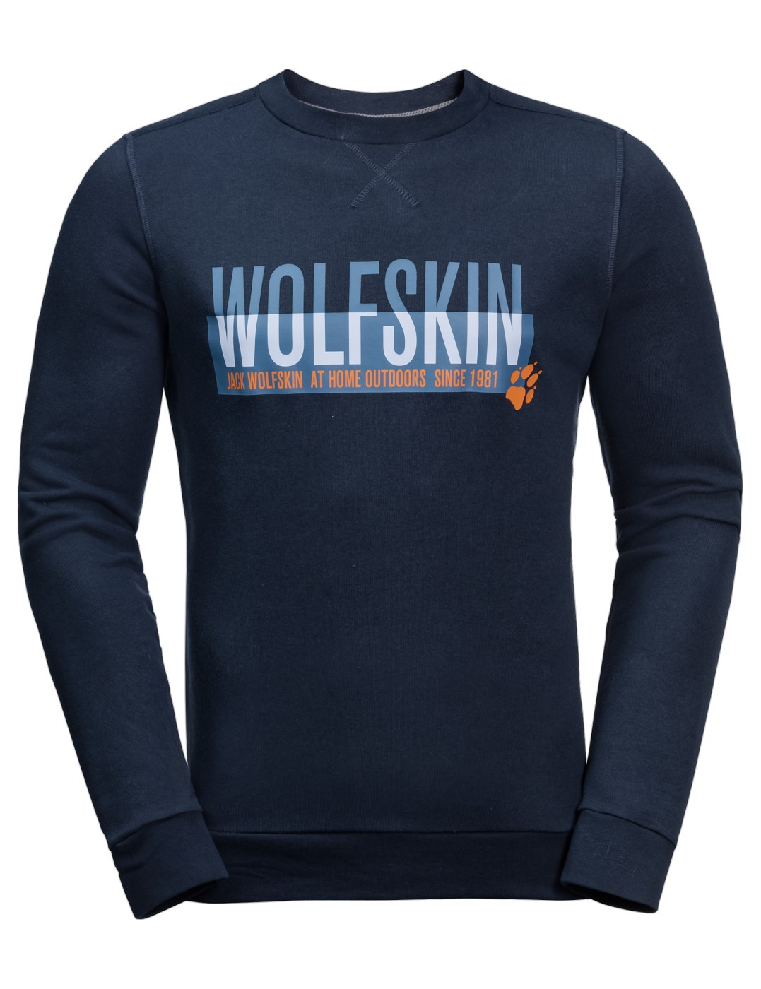 Jack Wolfskin Slogan Sweatshirt M night blue - en