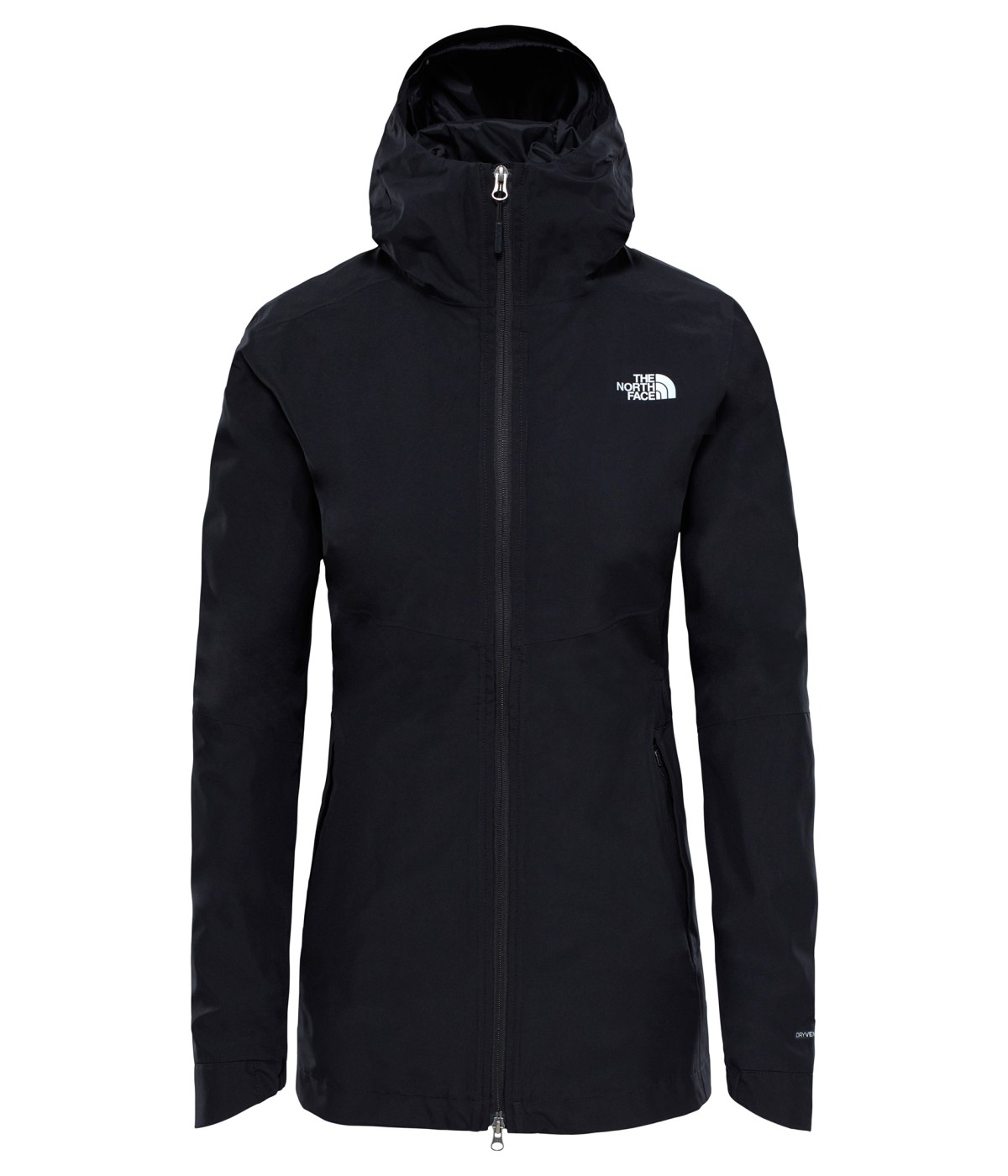 The North Face Women's Hikesteller Parka Shell Jacket L TNF BLACK-30
