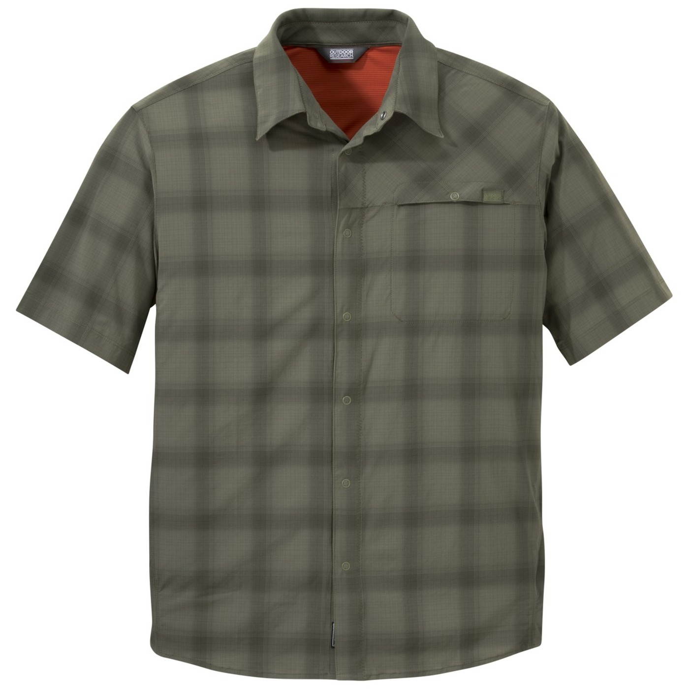 Outdoor Research Men's Astroman S/S Sun Shirt - fatigue - Hemden L