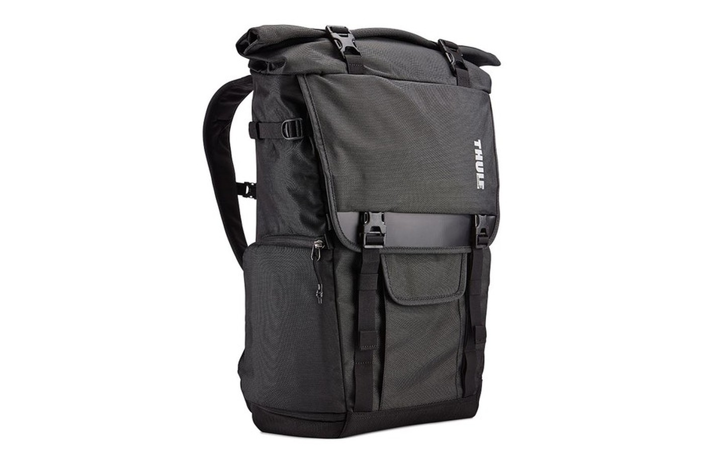 THULE Covert DSLR Rolltop Backpack - Black - Kamerataschen