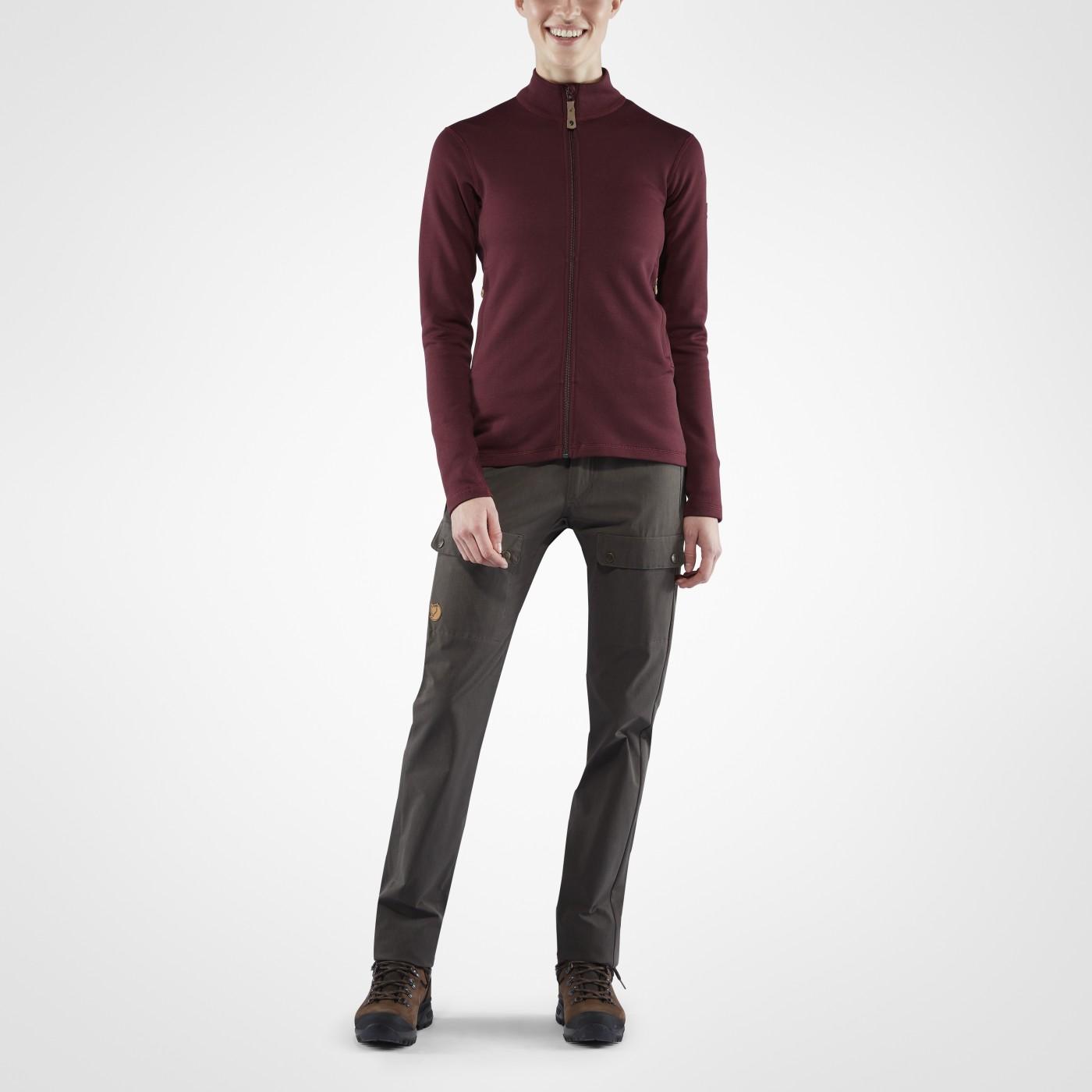 88b091df FjallRaven Keb Wool Sweater W Dark Garnet - au