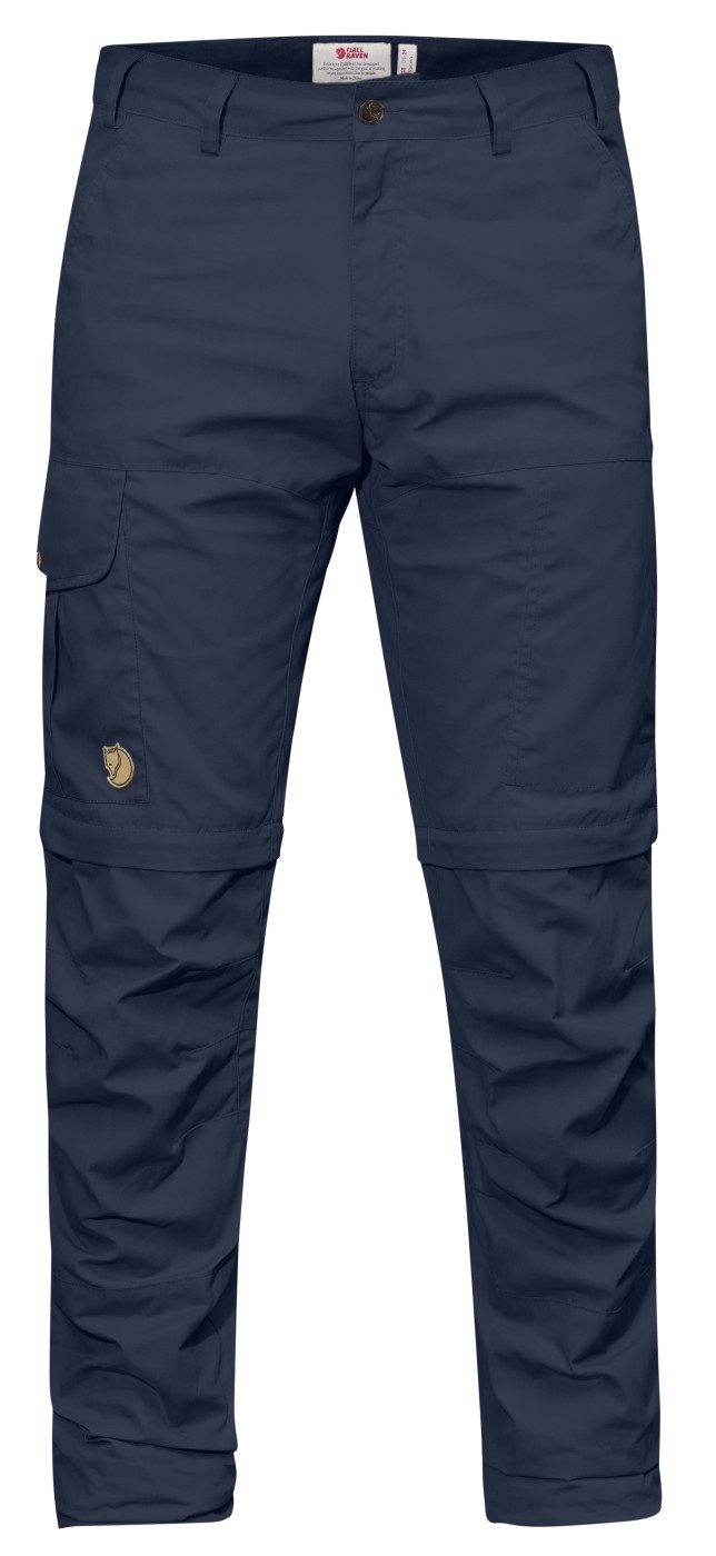 6198ed73fe62a FjallRaven Karl Pro Zip-Off Trousers M Dark Navy - us