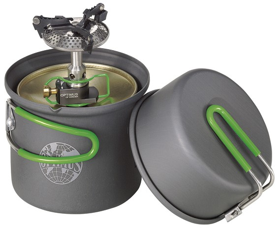 Optimus CRUX Lite Solo Cook System-30