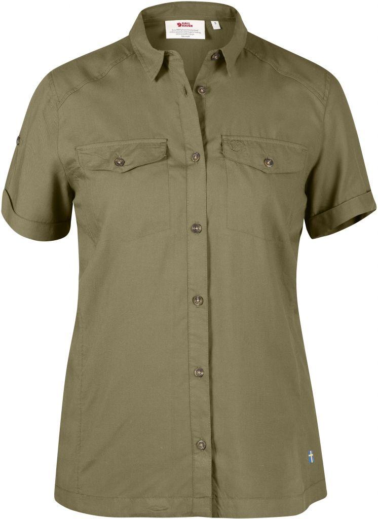 tanio na sprzedaż zniżki z fabryki przybywa FjallRaven Abisko Vent Shirt SS W. Cork - au