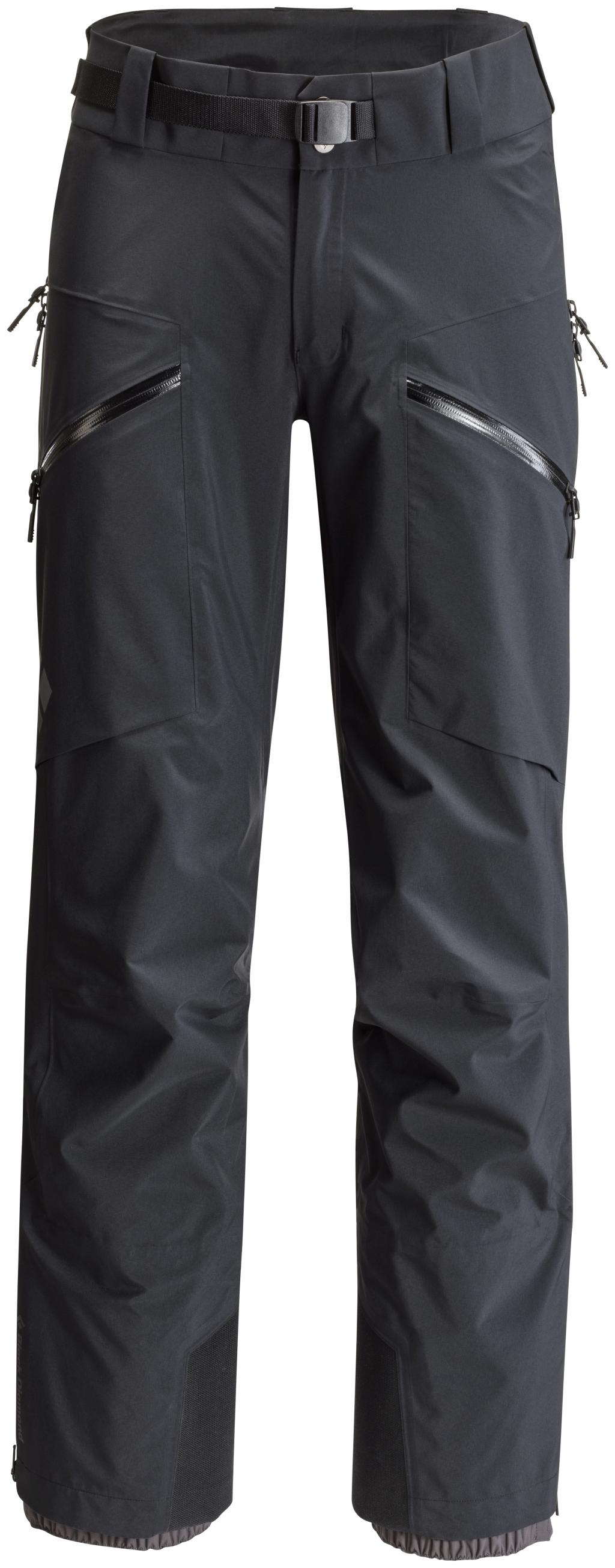 Black Diamond Sharp End Pants - Black - Regenhosen S