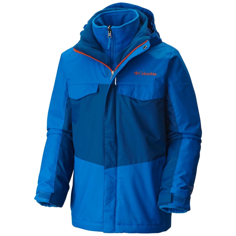 fd6dcb4dd Columbia Boys' Bugaboo Interchange Jacket Super Blue - au
