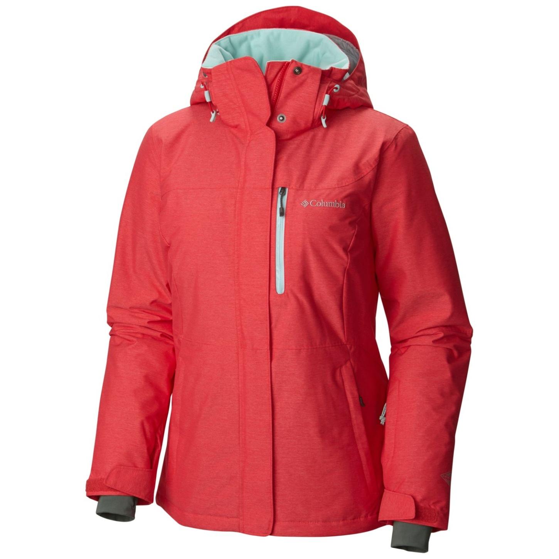 Action Women's Heat Omni Jacket Alpine Red Columbia Ski FlcJT13K