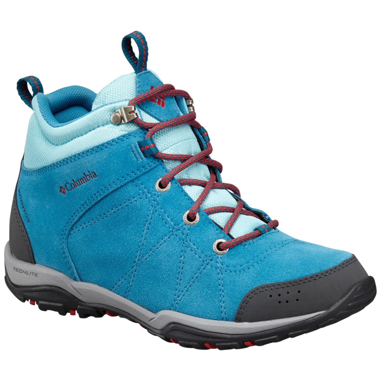 best deals on best place the best attitude Columbia Women's Fire Venture Mid Waterproof Trail Boots ...