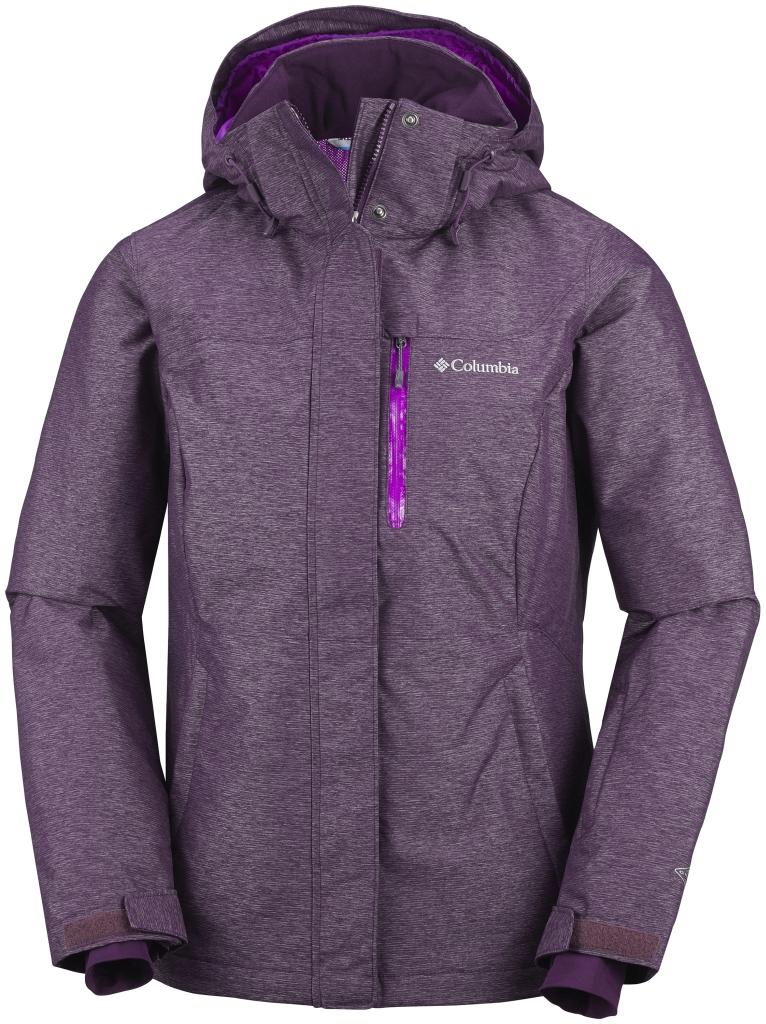 Columbia Alpine Action Oh Jacke Für Damen Purple Dahlia de