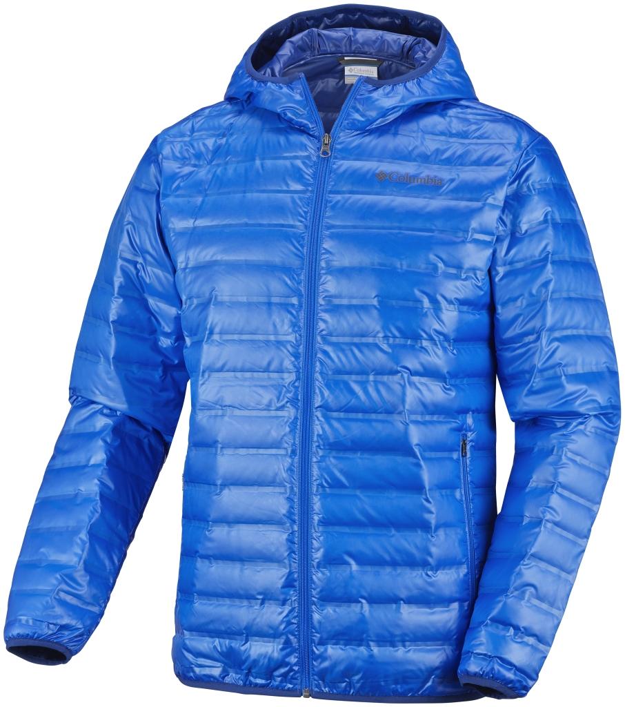 Columbia Men s Flash Forward Down Hooded Jacket Hyper Blue - ca 541535fc7