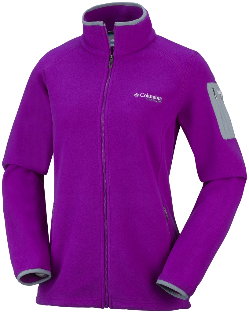 71d22e960347 Columbia Women s Titan Pass 2.0 Fleece Jacket Bright Plum - nz
