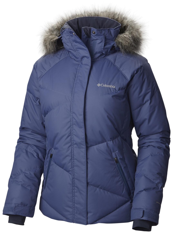 166c43519c2 Columbia Women's Lay 'D' Down Ski Jacket Bluebell - en