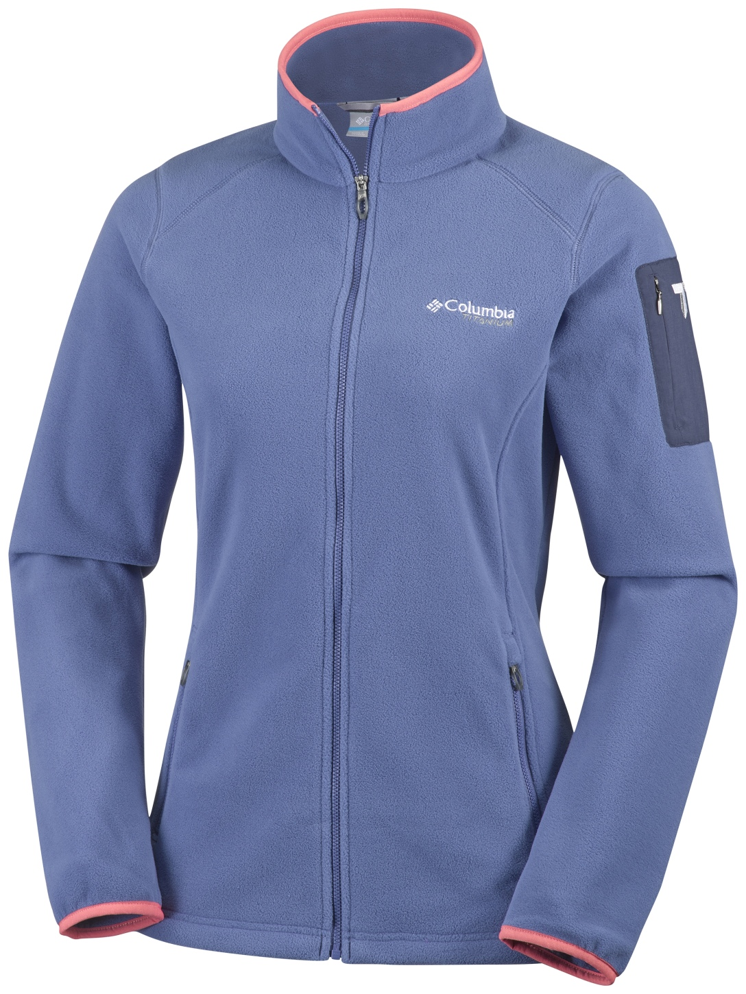 f0245b77b5cb Columbia Women s Titan Pass 2.0 Fleece Jacket Bluebell