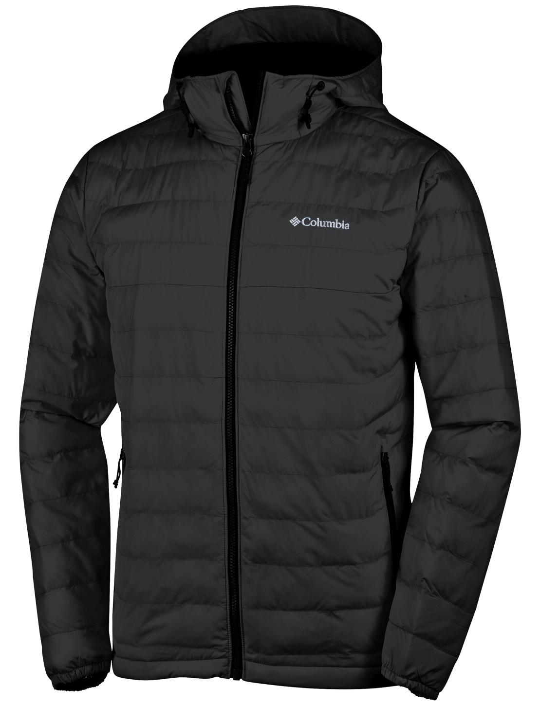 Columbia Columbia Men's Powder Lite Hooded Jacket Black ru