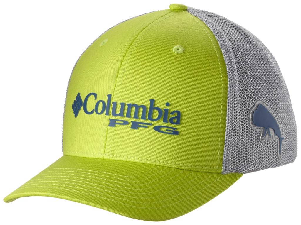 ec1be7311c1 Columbia Pfg Mesh Ball Cap Napa Green