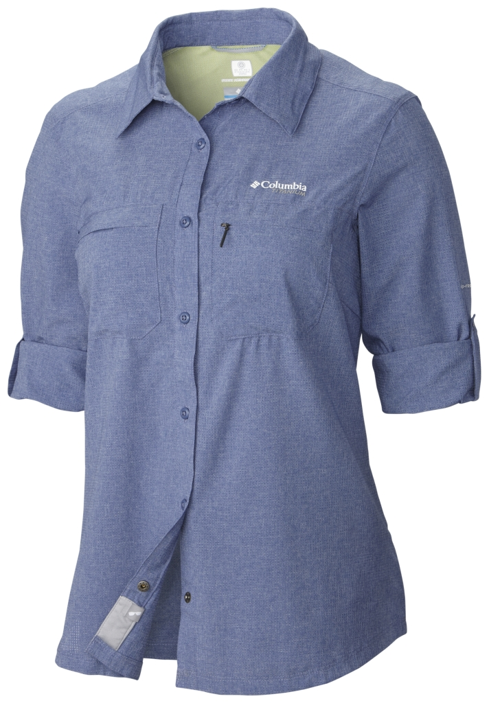 ec33bc15c9f Columbia Irico Long Sleeve Shirt Bluebell Heather - us