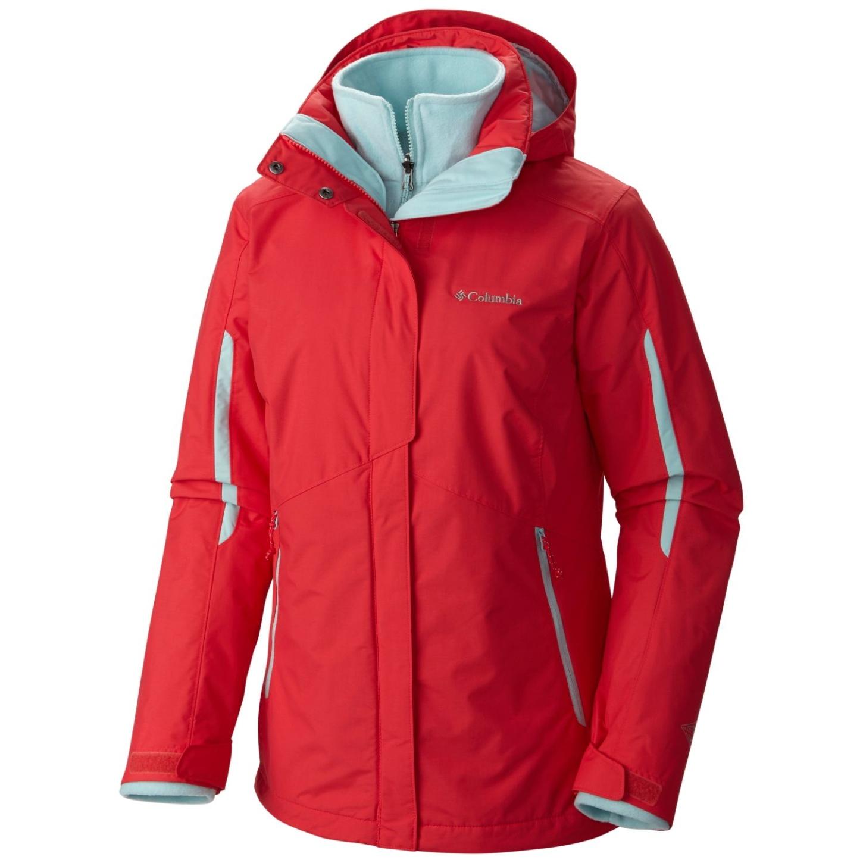 Womens Waterproof Insulated Ski Columbia Bugaboo Casual Interchange Jacket