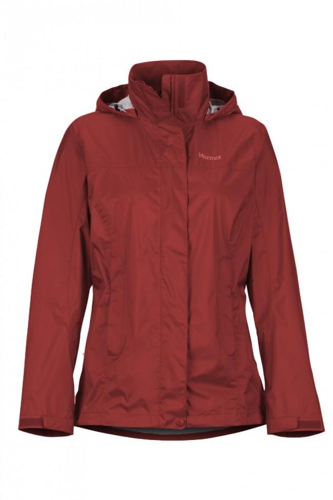 Eco Red Wm's Jacket Marmot de Sienna Precip Ch nXP80wOk