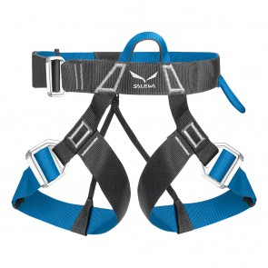Salewa Via Ferrata Evo Harness M/XXL CARBON/ POLAR BLUE-20