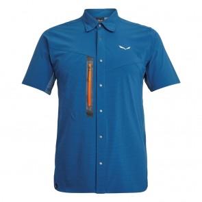 Salewa Puez Hybrid Dst M S/S Shirt Poseidon Melange-20