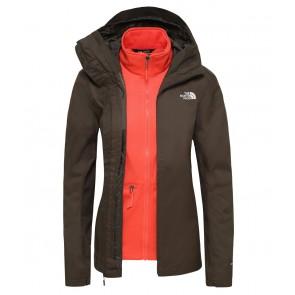 The North Face Women's Tanken Zip-In Triclimate Jacket NEWTAUPEGRN/RADIANTORANGE-20