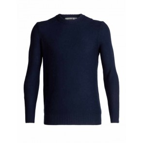 Icebreaker Mens Waypoint Crewe Sweater Midnight Navy-20