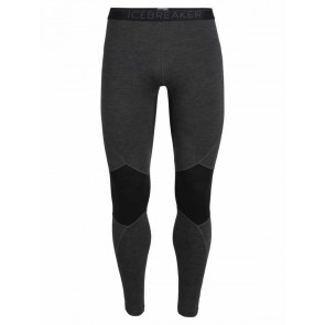 Icebreaker Mens 260 Zone Leggings Jet HTHR/Black-20