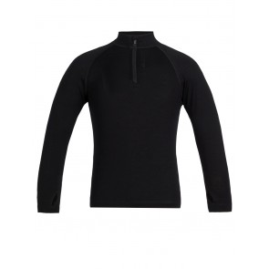Icebreaker Kids 260 Tech LS Half Zip Black-20