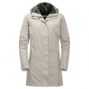 Jack Wolfskin Madison Avenue Coat dusty grey-20