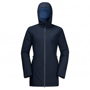 Jack Wolfskin Astana Coat W midnight blue-20