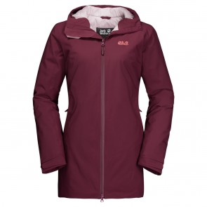 Jack Wolfskin Astana Coat W fall red-20
