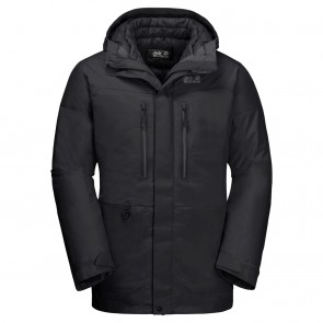 Jack Wolfskin North Ice Parka M black-20