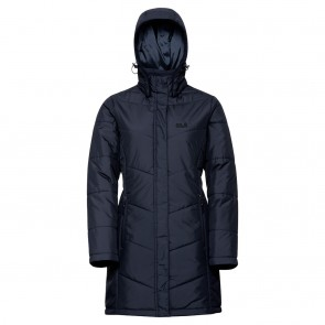 Jack Wolfskin Svalbard Coat Women midnight blue-20