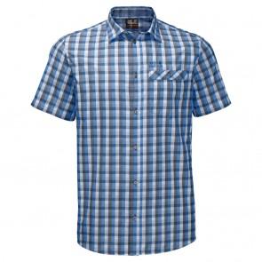 Jack Wolfskin Napo River Shirt night blue checks-20