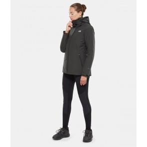 The North Face Women's Inlux Zip-In Triclimate Jacket TNF BLACK HEATHER/TNF BLK-20