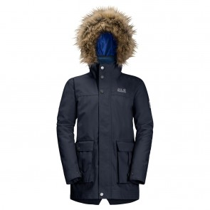 Jack Wolfskin B Elk Island 3In1 Parka night blue-20