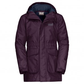 Jack Wolfskin Ice Cave 3In1 Jacket Girls aubergine-20