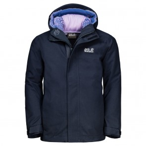 Jack Wolfskin Drei Berge 3In1 Jacket Kids midnight blue-20